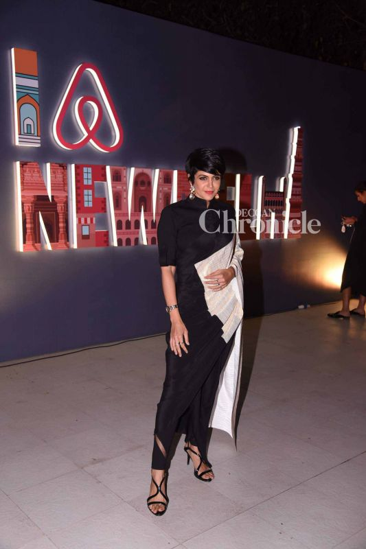 Mandira Bedi was also spotted at the event.
