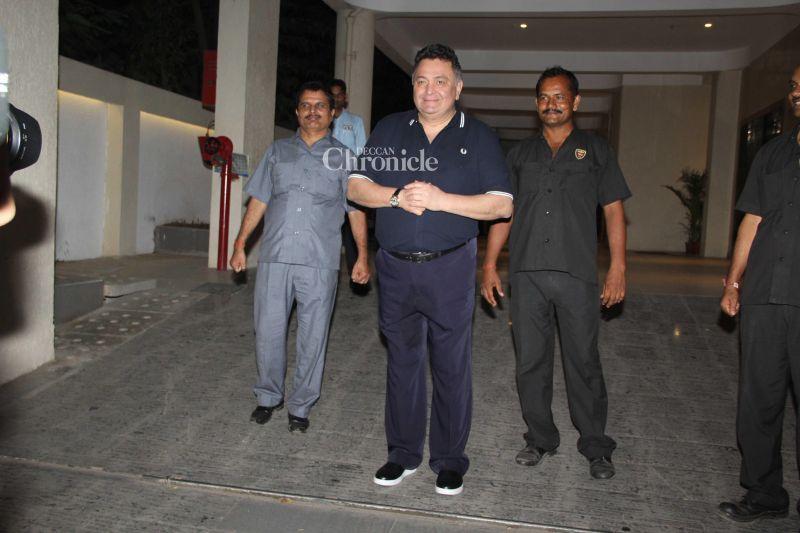 Rishi Kapoor is Babita Kapoor's brother-in-law.