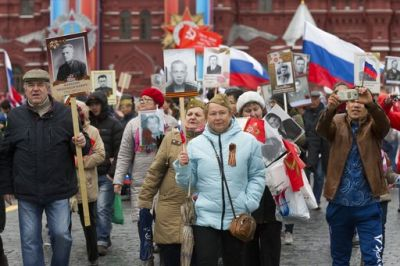 Russia celebrates the 1945 defeat of Nazi Germany every May 9 to honour the 8 million Red Army soldiers who fought and died for their country. (Photo: AP)