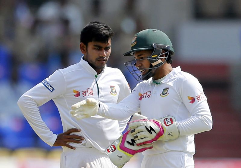 Mehedi Hasan Miraz: He may not have too many wickets to show against his name like he had during the two-match England series but the young off-spinner toiled hard in his first game on the Indian soil. Mehedi Hasan also showed how gritty and capable he is with a half-century in the first innings. The 19-year-old cricketer, if he continues to work on his game, will be pivotal to Bangladesh's future. (Photo: AP)