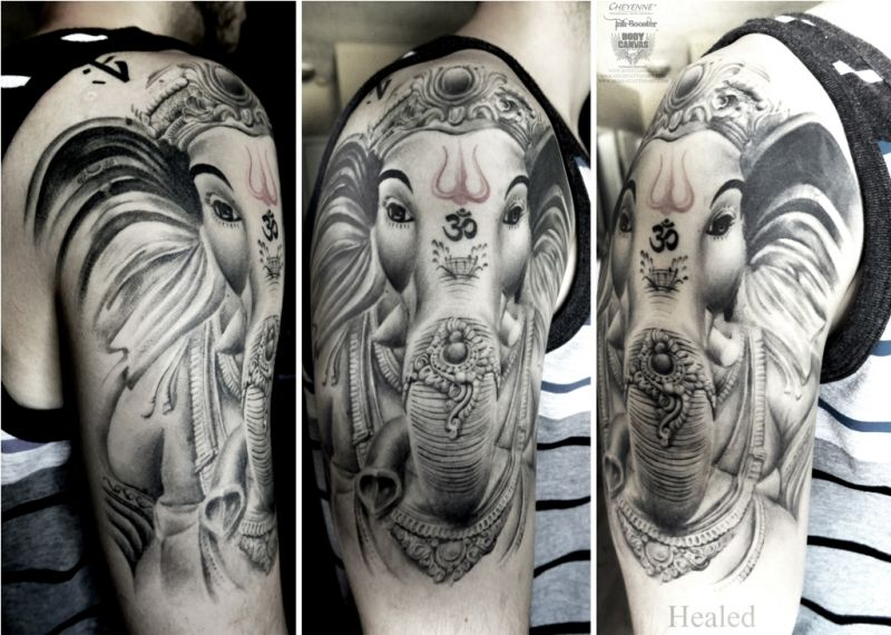 Religious tattoos have become more than just style statements.