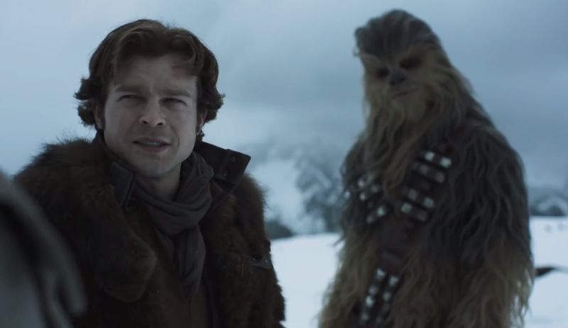 A still from 'Solo: A Star Wars Story'