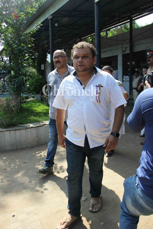Atul Parchure was also among the actors seen at the funeral.