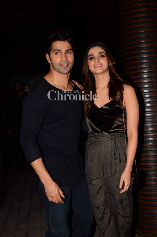 The chemistry between Varun and Alia is being appreciated.