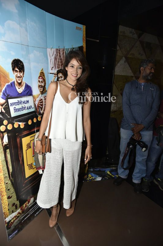 Vidya Malvade was also seen at the premiere.