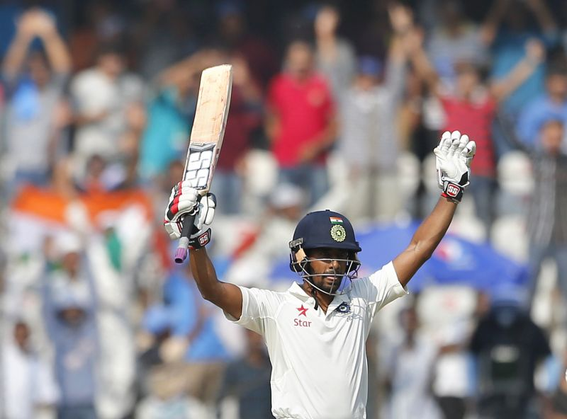 Wriddhiman Saha: Indian selectors had backed him despite Parthiv Patel's commanding performance with the bat in the last three Tests against England and Wriddhiman Saha, who scored an attacking double ton in the Irani Cup ahead of Hyderabad Test against Bangladesh, did full justice to selectors' faith in him as he notched up his second Test ton.  (Photo: AP)