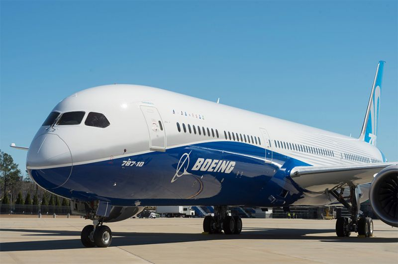 The Boeing 787-10 Dreamliner, the third member of the 787 Dreamliner family, made its debut on Friday, February 17 at Boeing South Carolina.