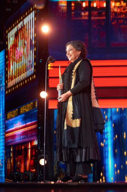 Shabana Azmi won Best Supporting Actress for her role as Sonam Kapoor's mother in 'Neerja.'