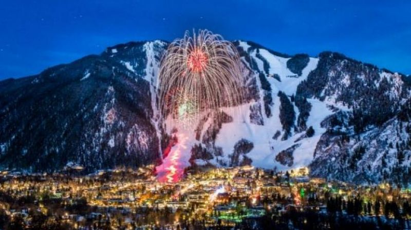 Aspen, Colorado, is known as a winter wonderland, especially during its 12 Days of Aspen celebration.