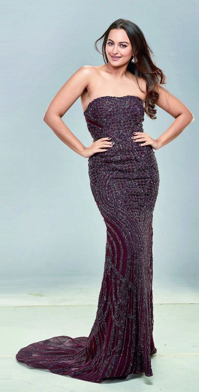 All about the family: Sonakshi Sinha loves living with her parents.