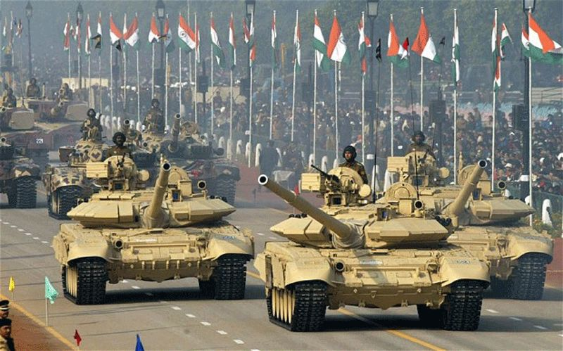 The overall defence budget saw an increase of a marginal 6.2 per cent for the next fiscal at Rs 2.74 lakh crore from the current Rs 2.58 lakh crore, with the capital outlay to cover the modernisation programmes getting a hike of 10.05 per cent. (Photo: PTI)