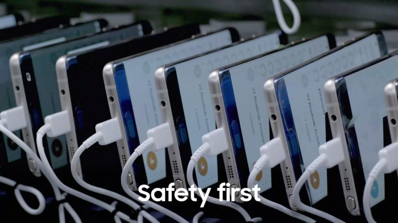To avoid repeat incidents Samsung has enhanced 8-Point Battery Safety Check, including durability test, visual inspection, X-Ray, Disassembling test, △OCT test, Charge and Discharge Test, TVOC Test and Accelerated Usage Test.