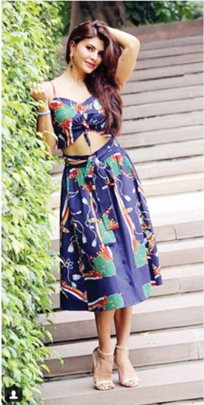 Jacqueline Fernandez gets experimental with prints, and carries the outfit with absolute panache