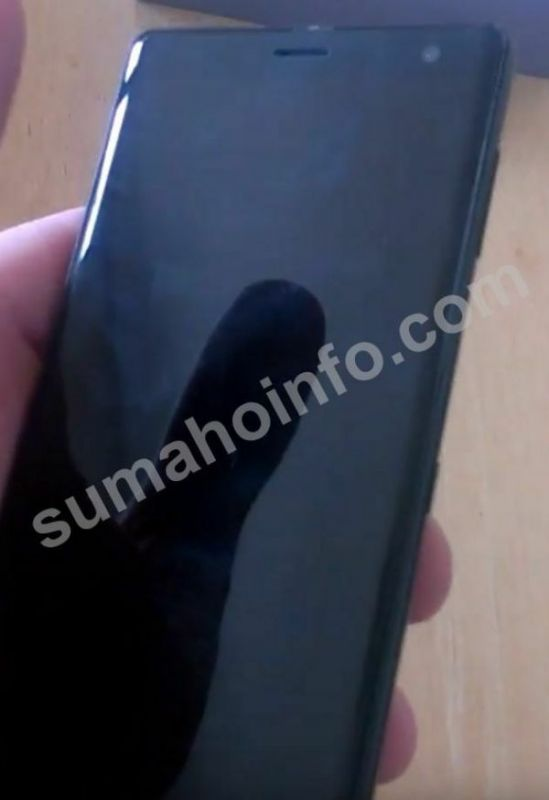 Sony Xperia XZ3 leaked images