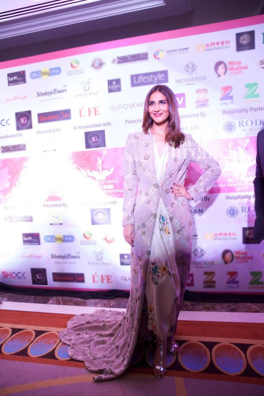 'Befikre' star Vaani Kapoor was also seen at the event.