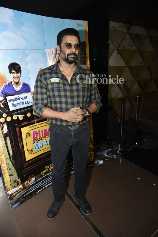 Madhavan also attended the premiere.