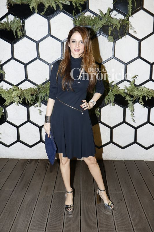 Susanne Khan was also among the most stylish celebrities at the event.