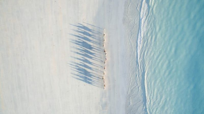 Cable Beach, Australia by Todd Kennedy (Photo Courtesy: Dronestagram)