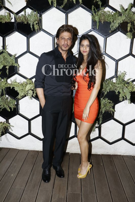 Shah Rukh's daughter Suhana has definitely  taken on from her parents' charm and style.