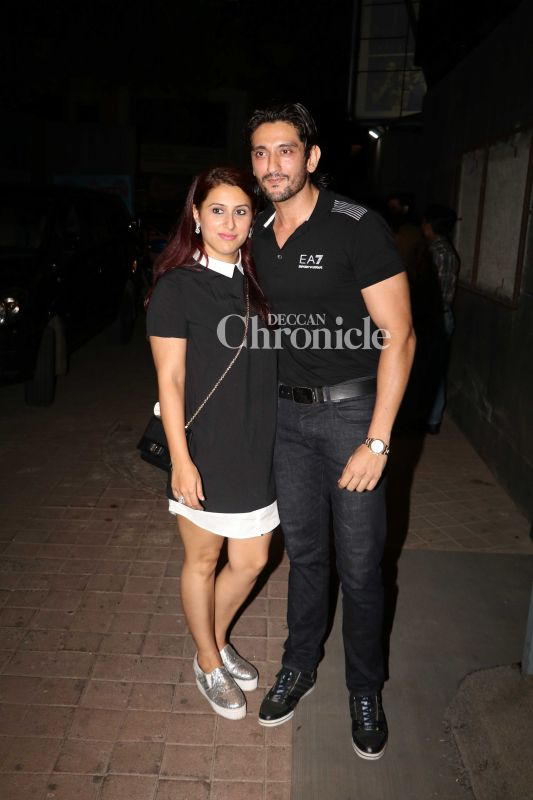 Shaad Randhawa and his wife Pooja were also seen at the screening.