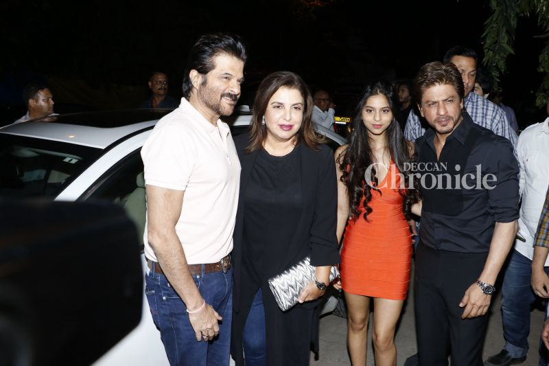 Anil Kapoor and Farah Khan were also present at the launch.