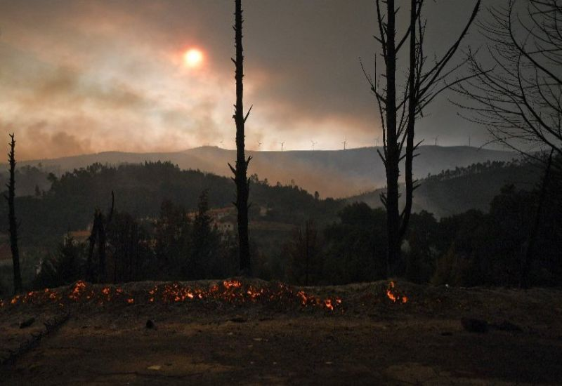 Portugal is prone to forest fires in the dry summer months and temperatures as high as 40 degrees Celsius (104 Fahrenheit) hit the area in recent days.