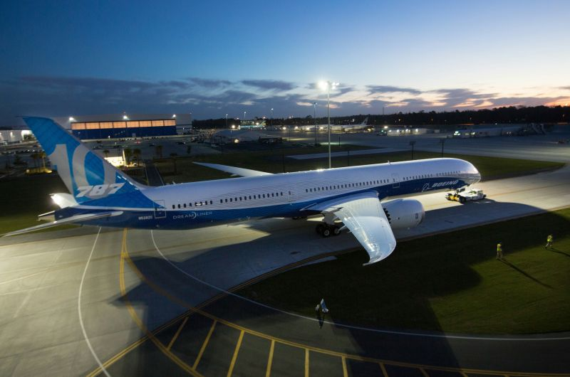 """What's happening here at Boeing South Carolina is a true American success story,"" said Dennis Muilenburg, Boeing chairman, president and CEO."