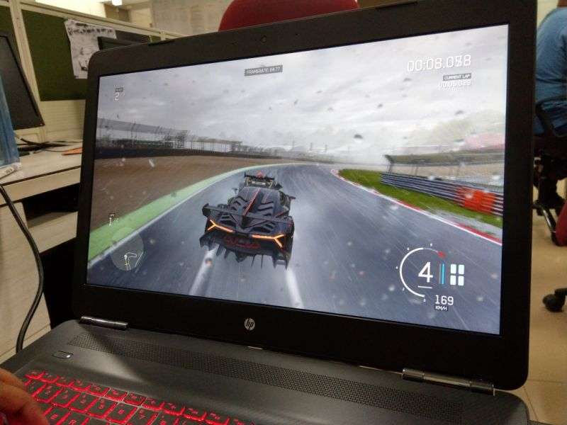 hp omen 17 review a portable gaming beast. Black Bedroom Furniture Sets. Home Design Ideas