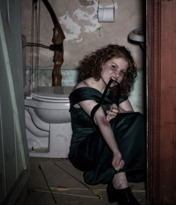 Merida from Brave is portrayed in as a heroin addict among other issues today.