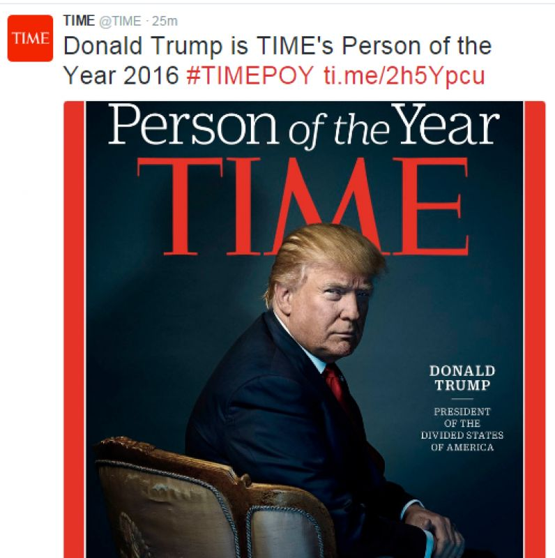 Donald Trump beats Modi to become TIME Person of the Year ...