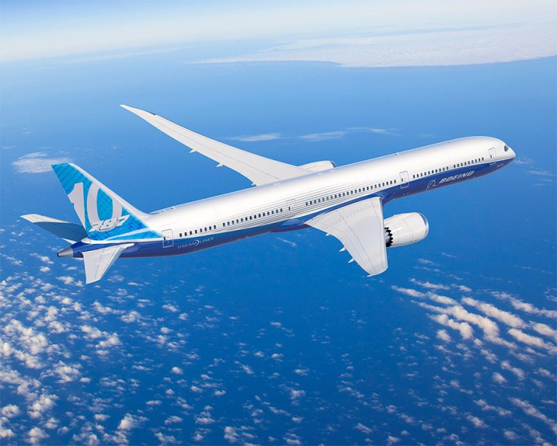 """This airplane, the most efficient in its class, is the result of years of hard work and dedication from our Boeing teammates, suppliers and community partners in South Carolina and across the globe,"" said Kevin McAllister, Boeing Commercial Airplanes president and CEO."