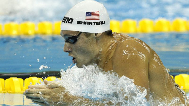 Eric Shanteau: It was heartbreak for American swimmer Eric Shanteau, who was diagnosed with cancer barely weeks ahead of the 2008 Beijing Olympics. While he could not make it to the 200m breaststroke final, Shanteau later came back to clinch a gold medal with the American 4x100m medley relay team. (Photo: AP)