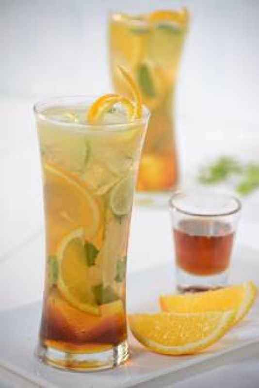 Maple Syrup and Orange Green Tea