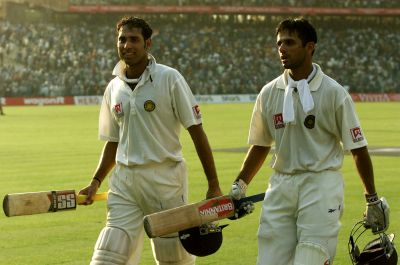 180 vs Australia: This was probably one of the most memorable innings by Dravid. India looked in great trouble after being asked to follow-on by Australia. However, Dravid combined with VVS Laxman in the second innings, to post a massive total of 657 in the second innings – something that helped India complete a remarkable comeback against the Aussies. (Photo: AFP)