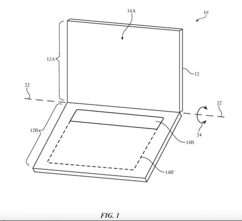 apple touchscreen keyboard patent