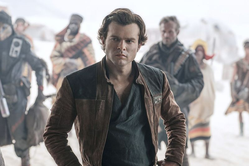 A still from 'Solo: The Star Wars Story'.