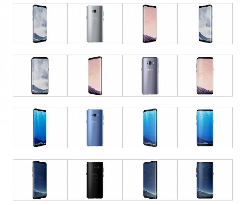 The Galaxy S8 and Galaxy S8+ will be available in Black Sky, Orchid Grey, Coral Blue and Arctic Silver colour.