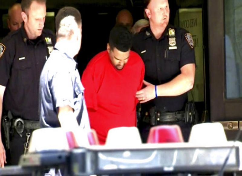Richard Rojas from the Bronx was taken into custody and was undergoing tests for alcohol, a law enforcement official told.