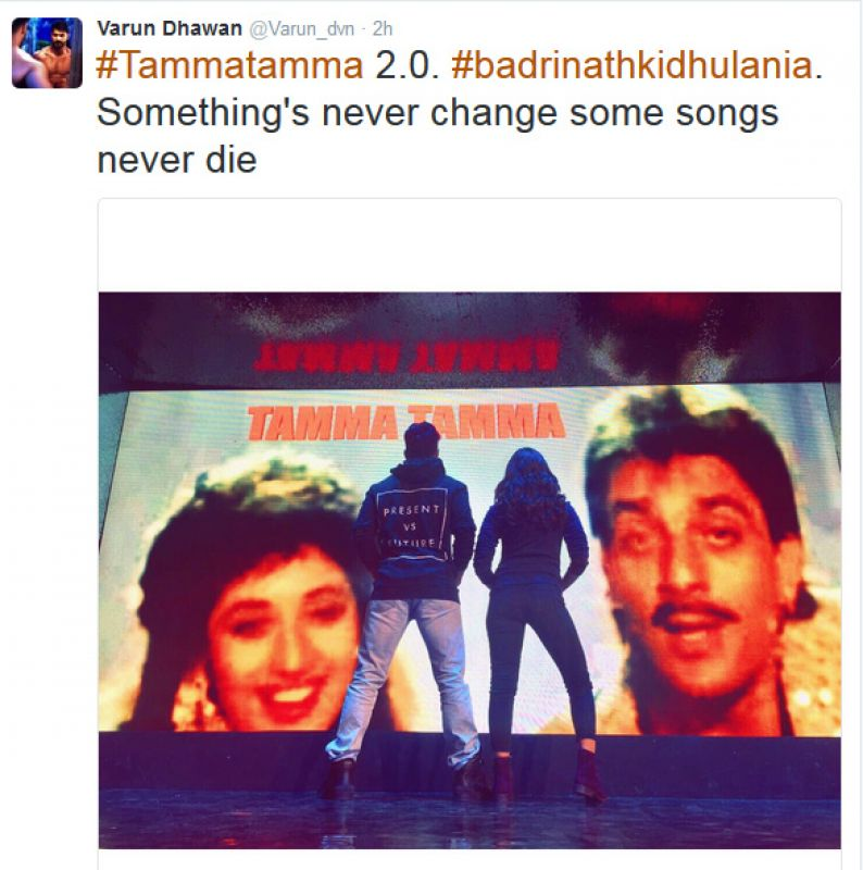 Some songs never die: Alia Bhatt on 'Tamma tamma'
