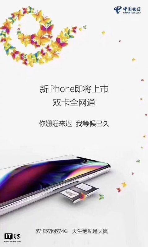 China Telecom Dual SIM iPhone