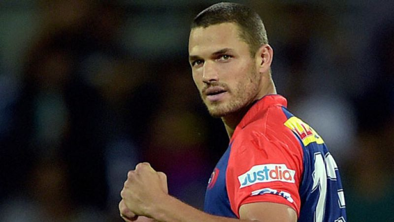Nathan Coulter-Nile: The Australian pacer was roped in by Kolkata Knight Riders for Rs. 3.5 crore. (Photo: AFP)