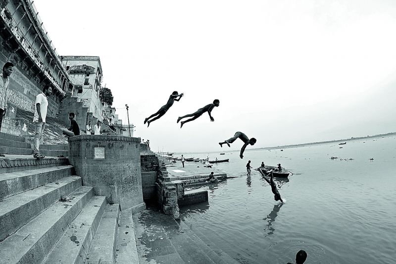 Supermen at Varanasi.