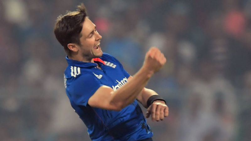 Chris Woakes: The England all-rounder was picked by Kolkata Knight Riders for Rs 4.2 crore. (Photo: AFP)