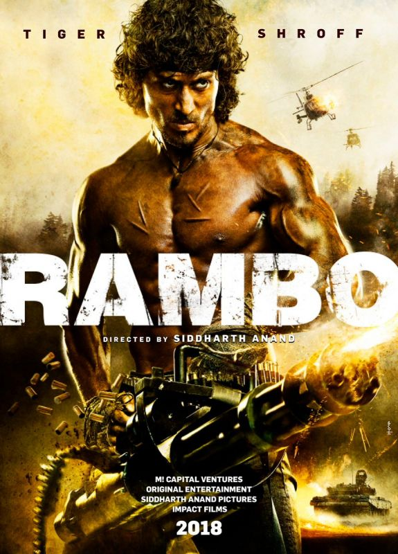 Confirmed! Tiger Shroff to star in Indian remake of Sylvestor Stallone's Rambo