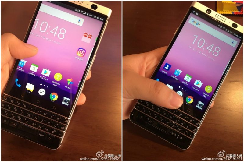 BlackBerry smartphone leaked online