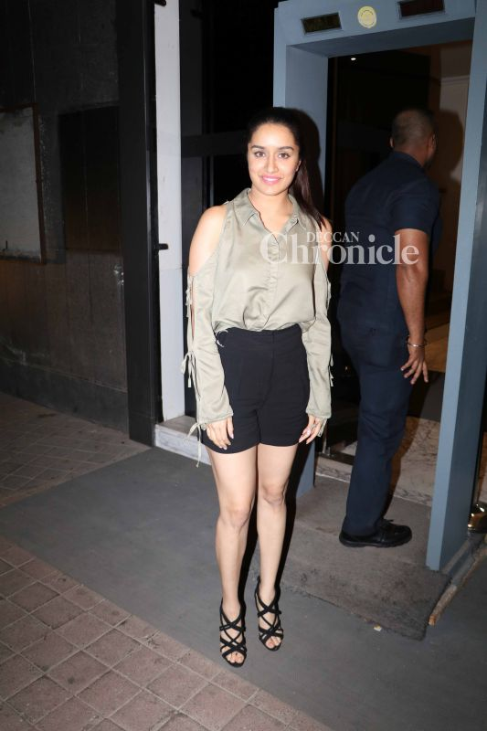 Shraddha Kapoor is the lead actress of the film.