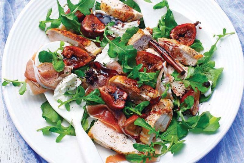 Buffalo Mozzarella Cheese& sweet figs