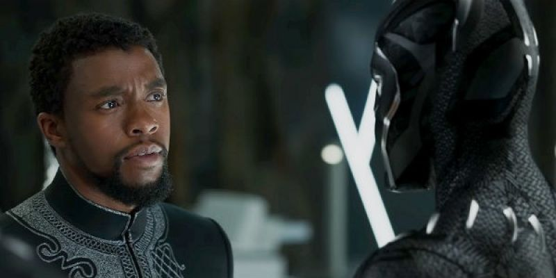 A still from 'Black Panther'.
