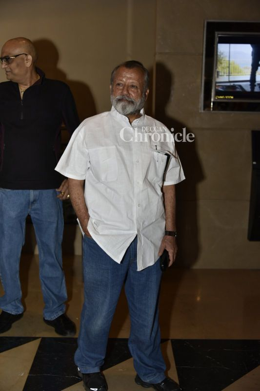 Pankaj Kapur was also seen at the event.