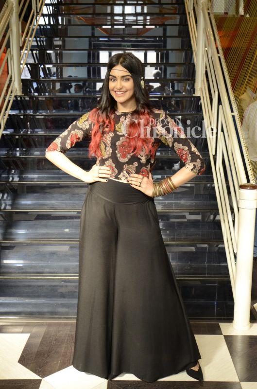 Adah Sharma dazzled at a fashion show in Kala Ghoda.